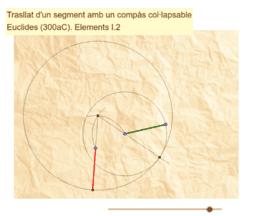Proposició I.2 dels Elements d'Euclides - I