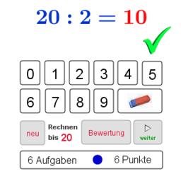 Quotienten berechnen (Training)