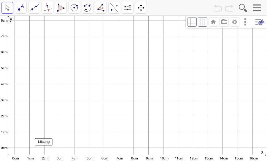 Dreieck 2: A(2/3), B(10/4), C(7/8): Zeichne das Dreieck und konstruiere den Höhenschnittpunkt H. Füge den Screenshot der Koordinaten von H im Auftrag in Teams ein! Drücke die Eingabetaste um die Aktivität zu starten