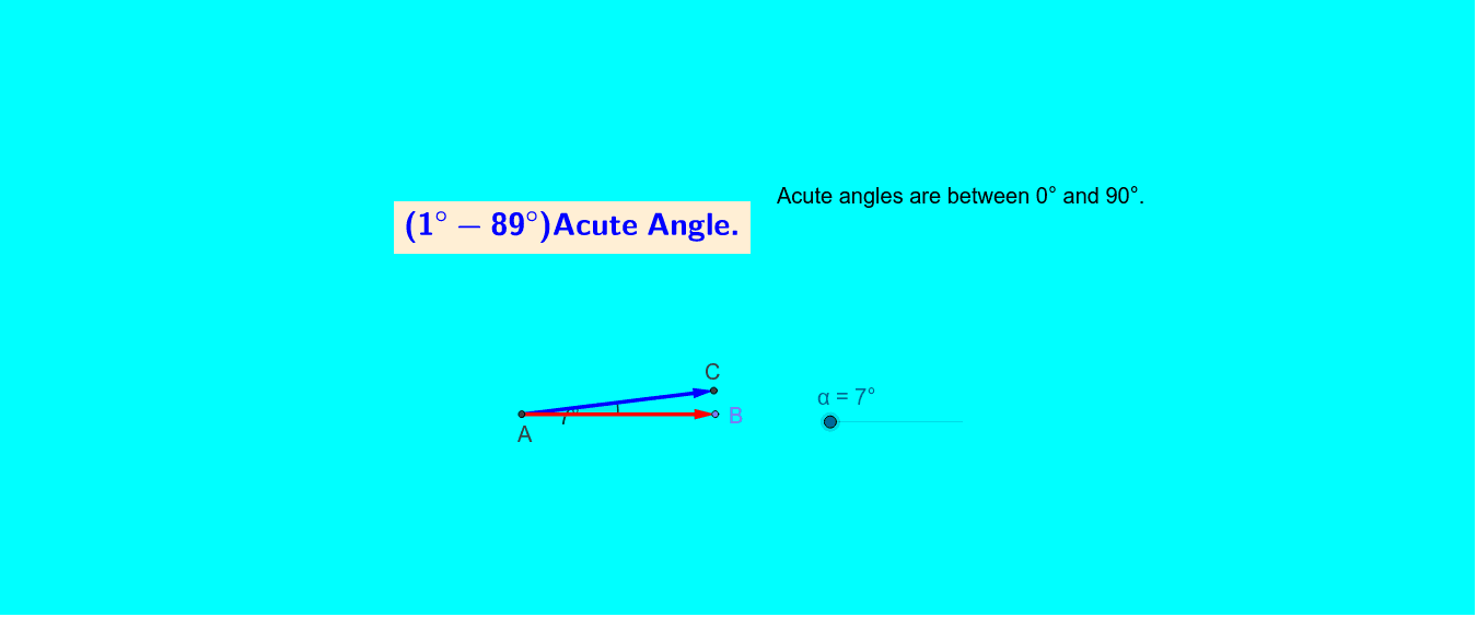 Types of Angles ( Parashuram ) Press Enter to start activity