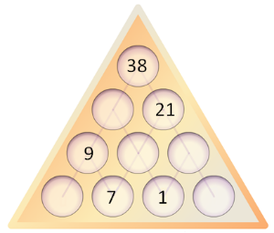 Number Pyramids: nrich.maths.org