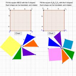 Puzzle T Pitagora