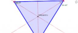 Alturas del triángulo