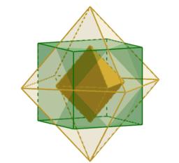 Cubo y octaedro