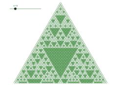 Wzór w trójkącie Pascala/Pascal's triangle pattern