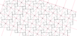 Pythagorean Theorem by Tessellation # 1 (Tiling)