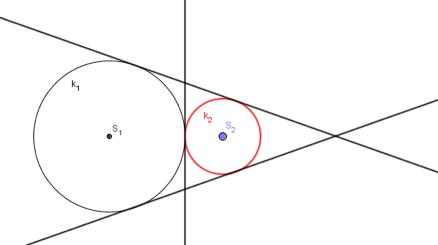 Zajednička unutarnja i vanjske tangente kružnica