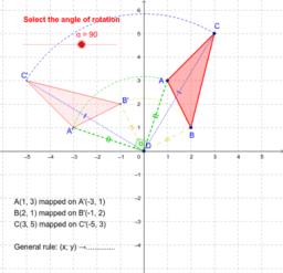 Rotation (triangle): k.90