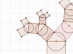 Albero di triangoli e quadrati