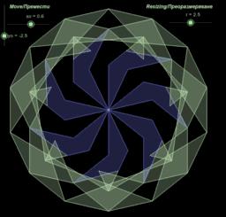 Swirling Heptagrins 3.