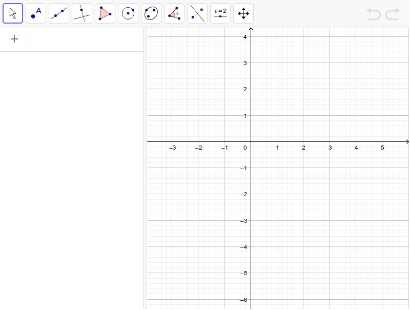 Introdueix l'equació  2x+y=1 i marca sis punts de la recta fent que es visualitzin les coordenades Premeu Enter per iniciar l'activitat