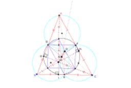 外心Oと垂心Hと9点円の中心N