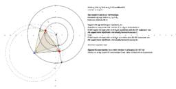 Szabályos háromszög 3 köríven