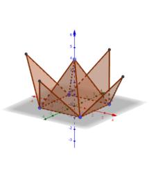 พีระมิดฐานสี่เหลี่ยมจตุรัส