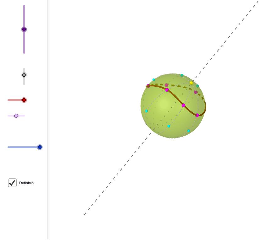 Definiu primer la spline i aneu movent punts lliscants Premeu Enter per iniciar l'activitat
