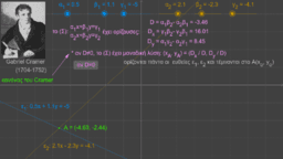 2x2 γραμμικό σύστημα