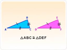 Criterios de Congruencia para Triángulos