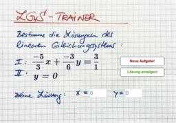 LGS-Trainer (Mit Brüchen)