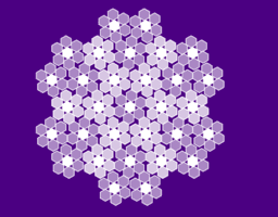 Sliding hexagons