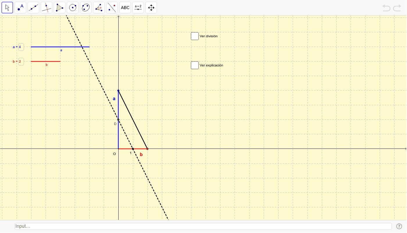 Dividir xeometricamente