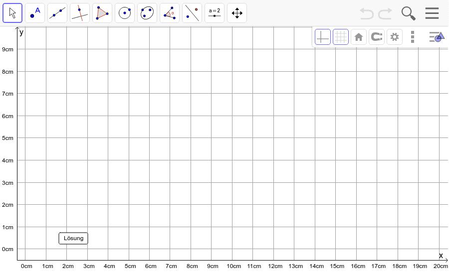 Dreieck 7: A(0/0), B(15/1), C(1/11): Zeichne das Dreieck und konstruiere den Höhenschnittpunkt H. Füge den Screenshot der Koordinaten von H im Auftrag in Teams ein! Drücke die Eingabetaste um die Aktivität zu starten