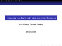 Teorema das soluções dos sistemas lineares - Aplicação.pdf