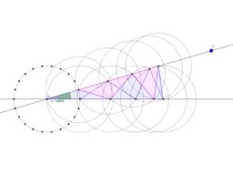 Winkelteilung, Kreisteilung - 1