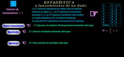 Estadística ( media aritmética - ejemplos 1 )