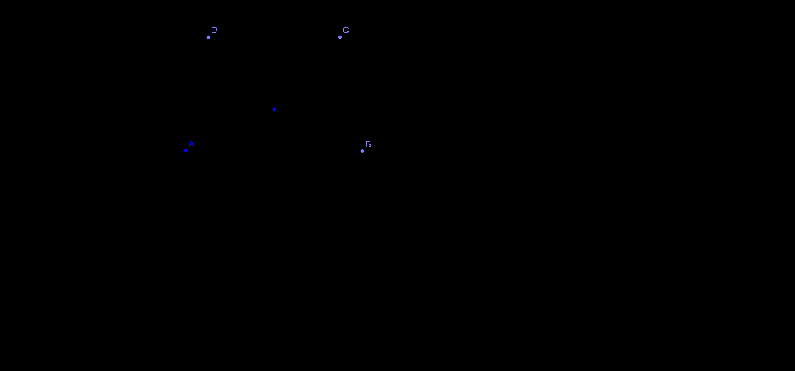 Описана окръжност около трапец