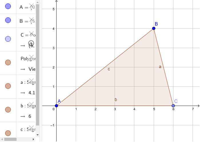 Fläche(ninhalt) Dreieck