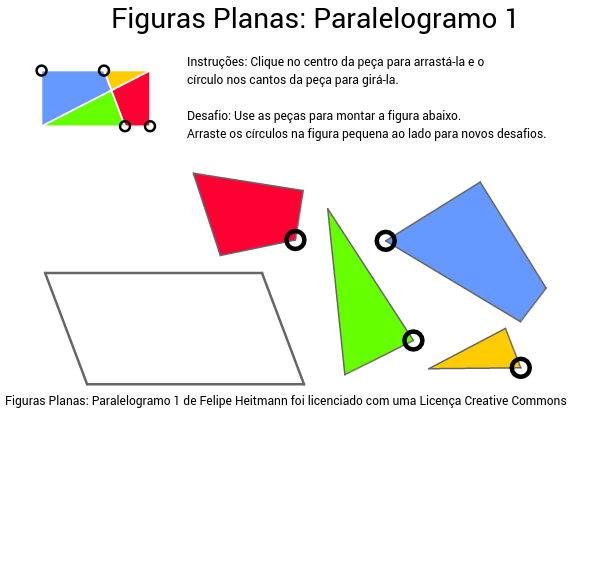 Figuras Planas: Paralelogramo 1