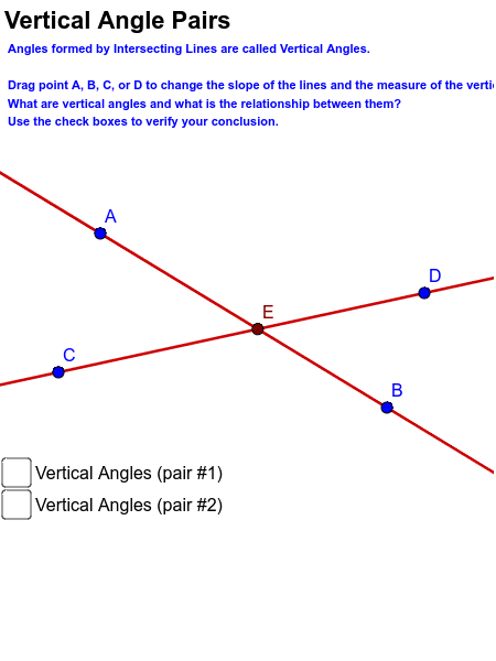 Vertical Angle Investigation