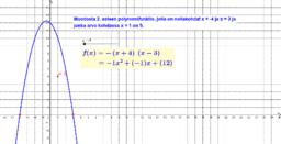 Halutunlainen 2. asteen polynomi