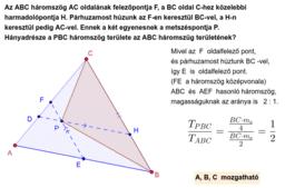 Háromszög - terület