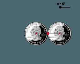 Rolling Quarter Puzzle