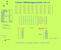 Lineare Gleichungssysteme (Vers.1)