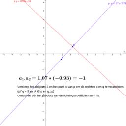 Analytische meetkunde (vlak) - Pienter4B-Hoofdstuk 8