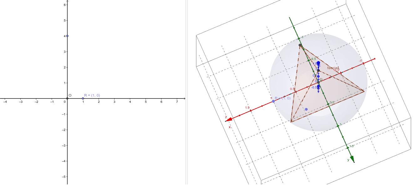 Solidi platonici in 3D (2): tetraedro