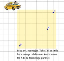 Korteste veje i taxigeometri