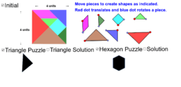 Tangram Triangle & Hexagon