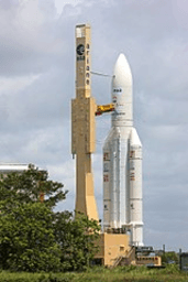 A explosão do Foguetão Ariane 5