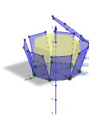 Desarrollo de un prisma centrado en el punto 0,0