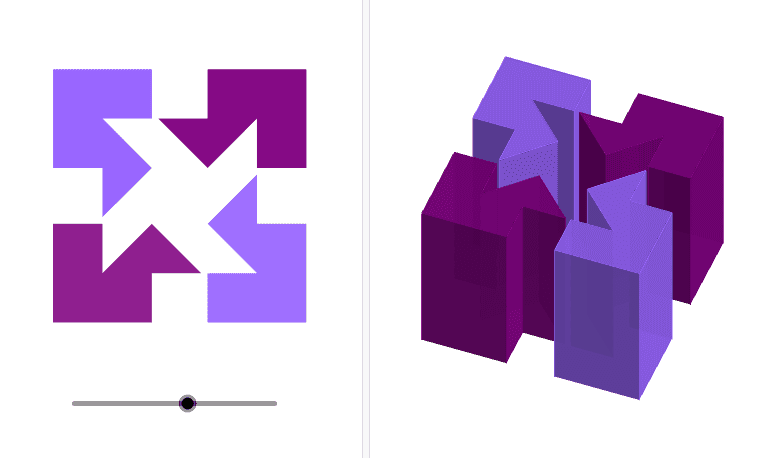 cut cubes - nicely combinable with AR if more complex cuts you can not see from the inside Press Enter to start activity