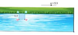 positionner N (et P) pour aire baignade maximale