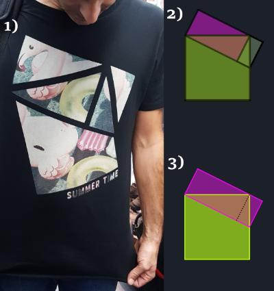 Recordem que havíem partit de la samarreta de la imatge (1), i l'havíem simplificat a (2) i a (3).