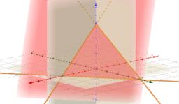 Koordinatenform von Ebene mit variablen Koeffizienten ...