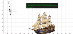 Projectile motion and pirate ships
