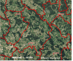 Wie groß ist die Gemeinde St. Peter am Wimberg?