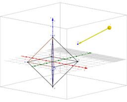 Oktaeder 3D
