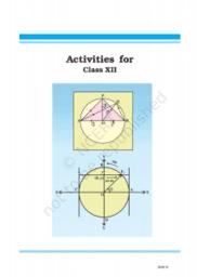 Class-12 Math Lab Activity